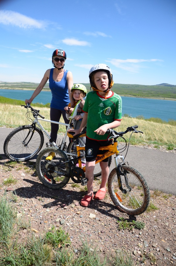 Biking in Waterton Lakes National Park