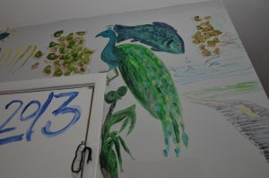 Wall Peacock