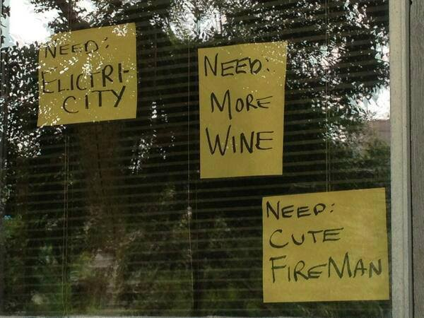 Need: Cute Firemen - Calgary's response to the flood