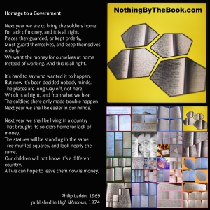 NBTB-Homage To A Govt-Philip Larkin