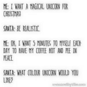 Unicorn for Christmas