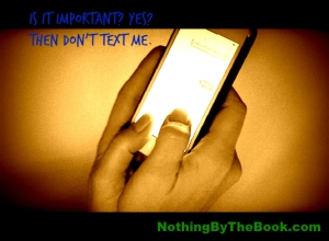 nbtb-is it important don't text me