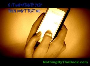 nbtb-is it important don't text me