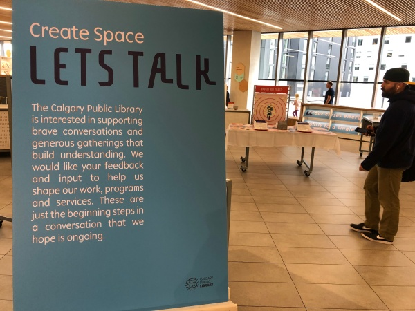 Create Space, Calgary Public Library