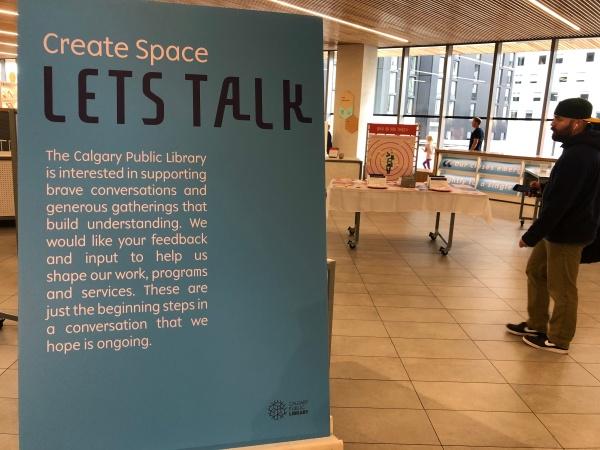 Create Space, Calgary Public Library