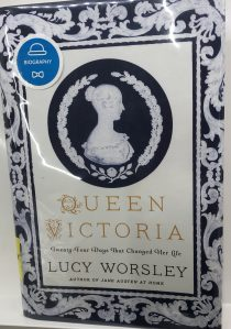 Book Cover: Queen Victoria by Lucy Worlsey