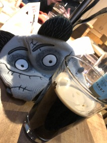 Frankentoque and beer